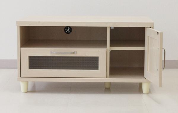 送料無料 幅約90cm ローボード テレビ台 テレビボード リビングボード コンパクト TV台 TVボード AVボード 収納棚 木目 木製 ロータイプ おしゃれ ナチュラル カントリー 北欧 アンティーク かわいい