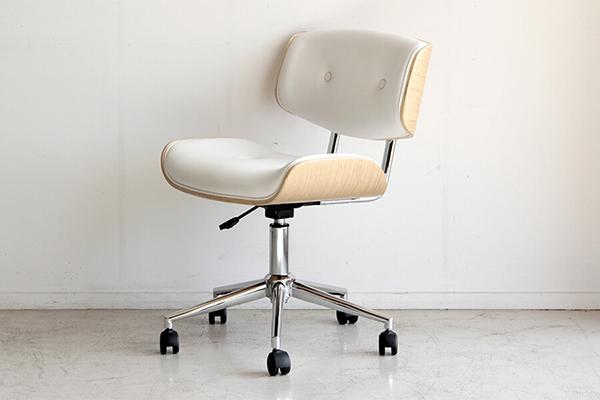 ワークチェア ホワイト オフィスチェア パソコンチェア デスクチェア PCチェア OAチェア 学習椅子 いす 椅子 おしゃれ シンプル 北欧 モダン 高級感