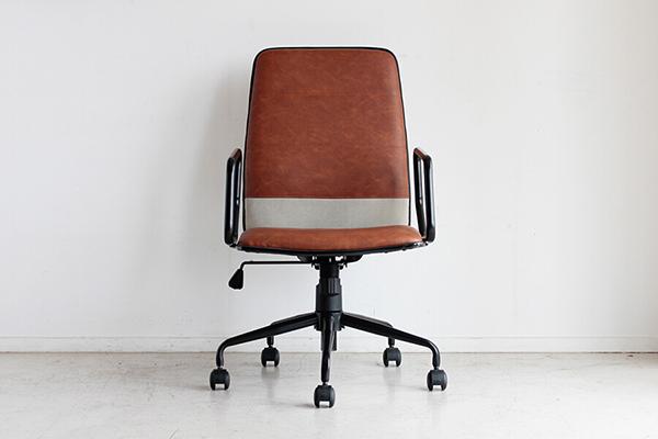 オフィスチェア ブラウン チェアー オフィスチェア デスク用チェア いす 椅子 キャスター ワークチェアー パソコンチェア デスクチェア PCチェア OAチェア 学習椅子 いす 椅子 おしゃれ 北欧 モダン ミッドセンチュリー レトロ 高級感