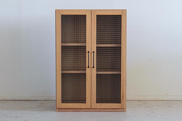 日本製 幅60cm ガラス扉 キャビネット キッチンリビング 収納棚 ガラスキャビネット 食器棚 木製 電話台 FAX台 棚 ラック 本棚 コンパクト おしゃれ 北欧 モダン ナチュラル