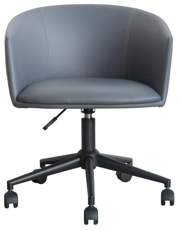 オフィスチェア パソコンチェアー おしゃれ 高級感 デスクチェア ワークチェア パージ チェア グレー デザイン 椅子 イス いす ミッドセンチュリー モダン シンプル 西海岸