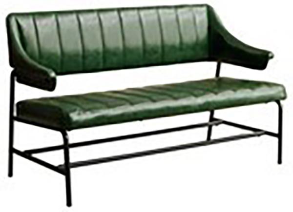 ベンチ グリーン ダイニングベンチ ベンチソファー ベンチチェア カフェ ゲイズ イス 椅子 いす おしゃれ レトロ モダン 高級感