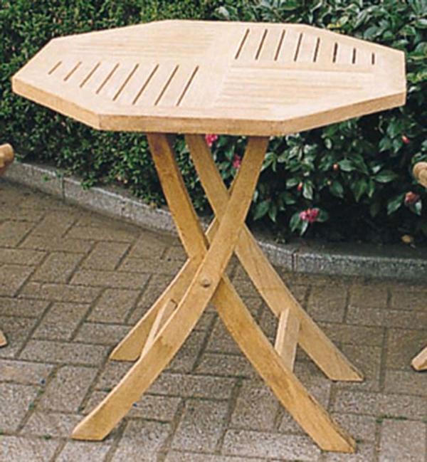 折り畳みテーブル 単品 チーク 木製 折りたたみ ガーデンテーブル 机 テラス アウトドア おしゃれ モダン
