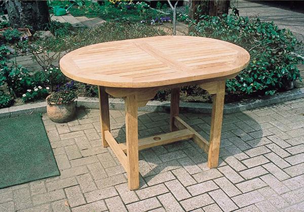 エクステンションテーブル 単品 伸縮式 木製 ガーデンテーブル 机 テラス アウトドア おしゃれ モダン