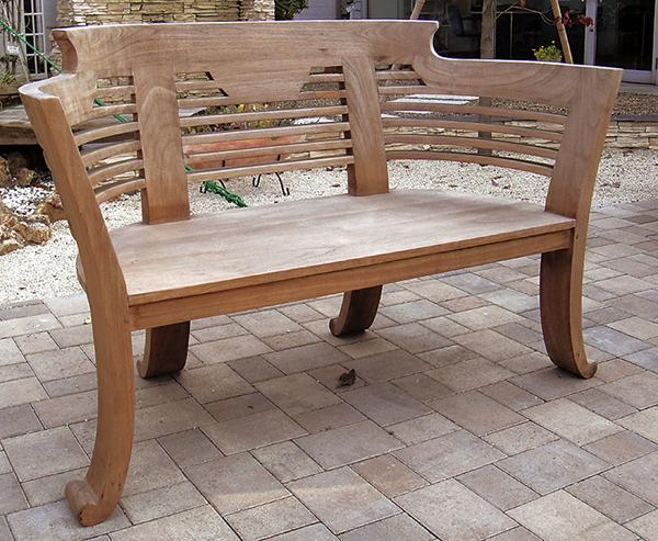 ロマンティックベンチ 木製 ガーデンチェアー ガーデンベンチ 長椅子 イス チェア チェアー 椅子 おしゃれ アンティーク モダン レトロ