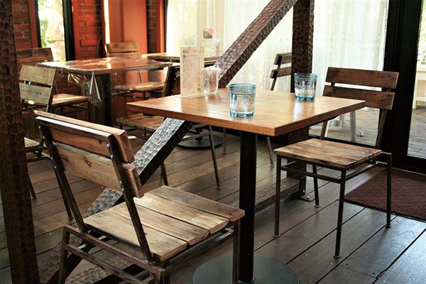 カフェテーブル 単品 スチール コーヒーテーブル カフェ テーブル 机 おしゃれ モダン アンティーク