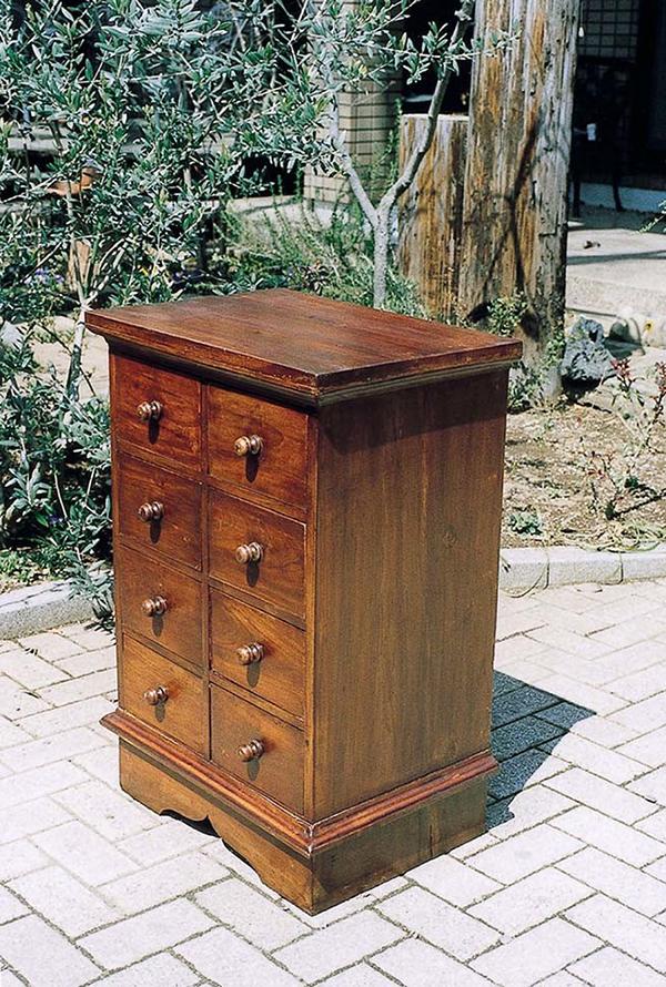 フォンテーブル 木製 キャビネット 収納 小物収納 おしゃれ モダン