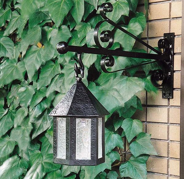 アンティークランプ 六角型 ブラケット付 インテリア ライト 壁掛け照明 おしゃれ アンティーク 野外 おしゃれ 外灯 門灯 ガーデン ガーデンライト