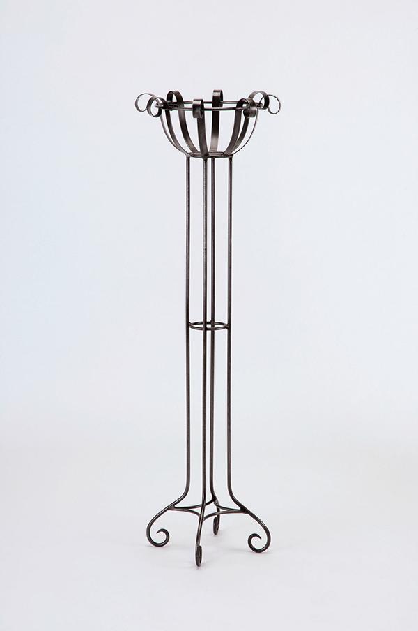 フラワースタンドストレート型 エクステリア ガーデニング インテリア 雑貨 アンティーク アイアン
