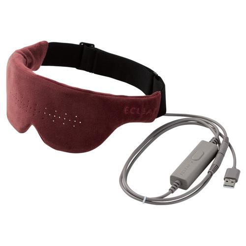 人気 エレコム エクリアwarm 大決算セール USBホットアイマスク HCW-E01BR モーヴブラウン