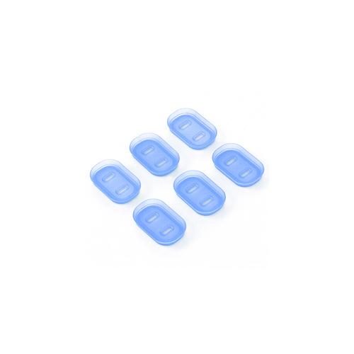 サンワサプライ プラグ安全カバー 初売り 2P用 TAP-PSC5N 新作 6個入り