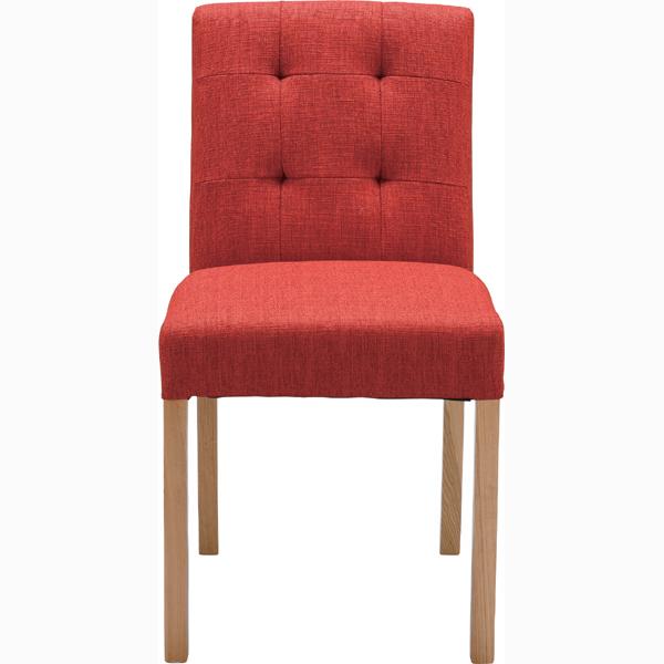 ダイニングチェア 天然木 食卓チェアー 食卓椅子 いす イス 椅子 ダイニングチェアー ファブリック レトロ モダン 北欧 ブルックリン 西海岸 男前 インテリア おしゃれ アンティーク カントリー かわいい 高級感 レッド
