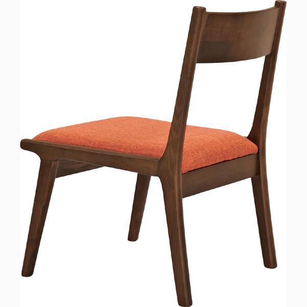 ダイニングチェア 天然木 木製 食卓チェアー 食卓椅子 いす イス 椅子 ファブリック ダイニングチェアー レトロ モダン 北欧 ブルックリン 西海岸 男前 インテリア おしゃれ アンティーク カントリー かわいい 高級感 ブラウン