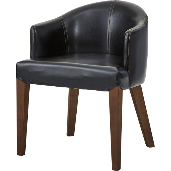 ダイニングチェア ローバック レザー 天然木 木製 食卓チェアー 食卓椅子 いす イス 椅子 ダイニングチェアー レトロ モダン 北欧 ブルックリン 西海岸 男前 インテリア おしゃれ アンティーク カントリー かわいい 高級感 ダークブラウン