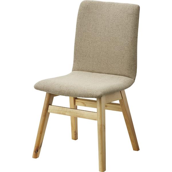 ダイニングチェア 天然木 木製 食卓チェアー 食卓椅子 いす イス 椅子 ダイニングチェアー ファブリック レトロ モダン 北欧 ブルックリン 西海岸 男前 インテリア おしゃれ アンティーク カントリー かわいい 高級感 ベージュ