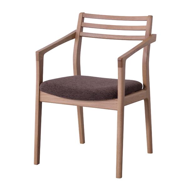 日本製 ダイニングチェア 食卓チェアー 肘付き 肘掛け付き 食卓椅子 いす イス 椅子 ダイニングチェアー ファブリック レトロ モダン 北欧 ブルックリン 西海岸 男前 インテリア おしゃれ アンティーク カントリー かわいい 高級感 オーク