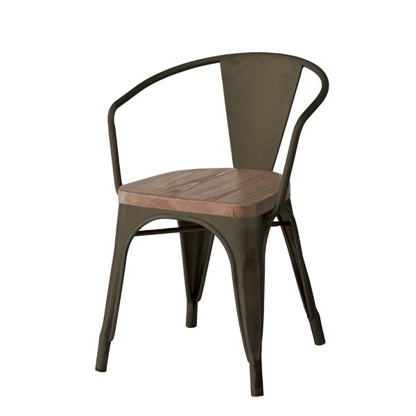 ダイニングチェア 食卓チェアー スタッキングチェア スチール 天然木 木製 食卓椅子 いす イス 椅子 ダイニングチェアー レトロ モダン 北欧 ブルックリン 西海岸 男前 インテリア おしゃれ シンプル アンティーク カントリー かわいい 高級感 ブラック