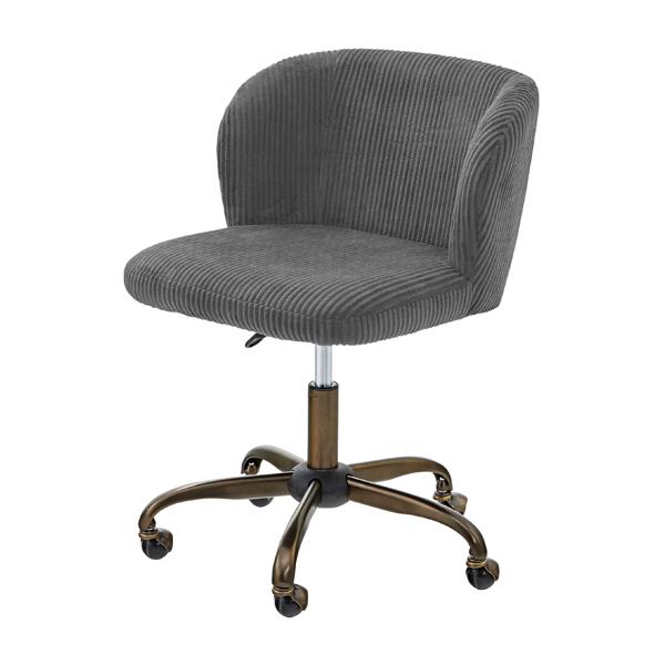 オフィスチェア キャスター付き 事務椅子 パソコンチェア デスクチェア デスク チェアー 学習椅子 学習チェア キッズチェア おしゃれ グレー