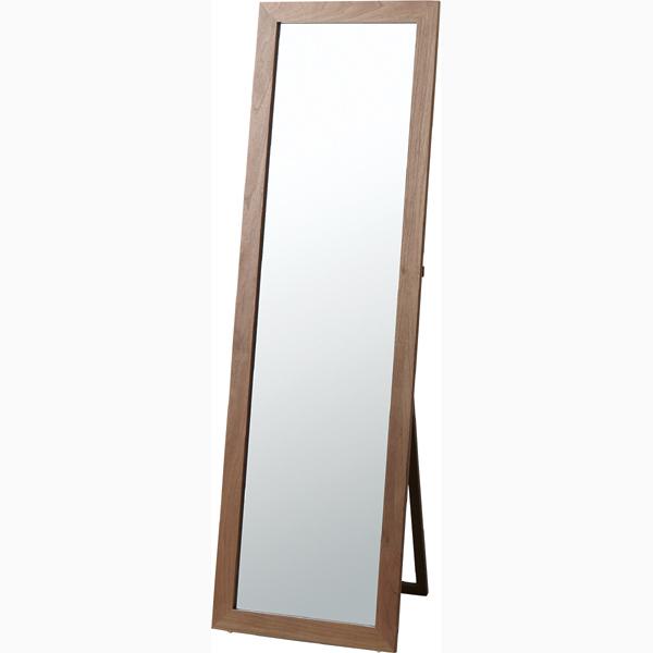 スタンドミラー 木製 姿見 全身 飛散防止ミラー アンティーク ミラー 鏡 全身鏡 かがみ カガミ モダン 美容院 店舗 カフェ サロン レトロ モダン ブルックリン 西海岸 おしゃれ ブラウン