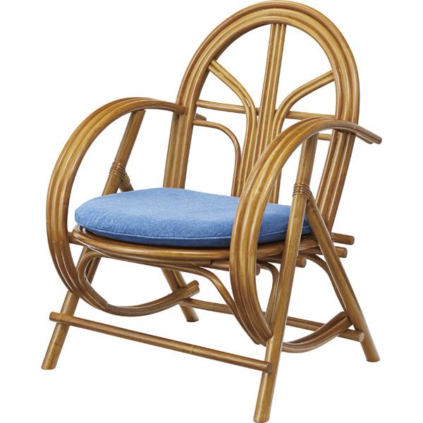 ラタンチェア フロア チェアー 椅子 イス チェア リラックスチェアー フロアチェア リビングチェア 腰痛 おしゃれ かわいい 北欧