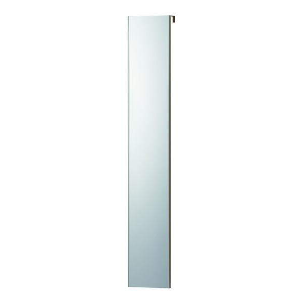 【REFEX】リフェクス W20cm×120cm×2cm ドア掛け 姿見 飾縁(両サイドのみ) プロ仕様!割れない鏡 W0.5cm オーク色【日本製】