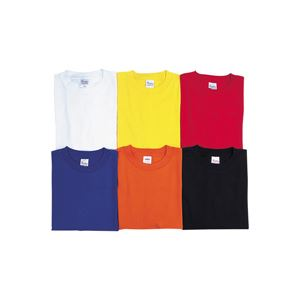(業務用10セット) M Y4003 昭和被服 レッド Tシャツ