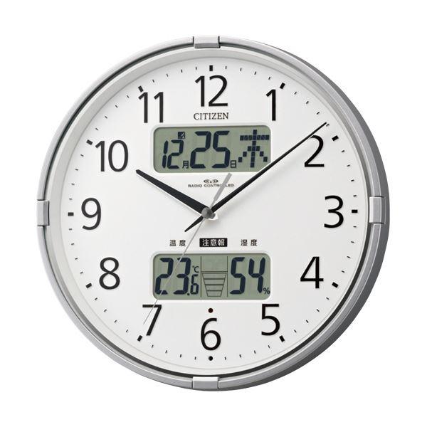 環境目安表示付電波掛時計4FY618-019 1台 シチズン
