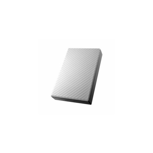IOデータ USB 3.0/2.0対応ポータブルハードディスク「高速カクうす」 セラミックホワイト 2TB HDPT-UT2DW