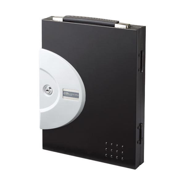 【×3セット】 (まとめ) CKB-16-K キーボックス カール事務器 1個 16個吊ブラック