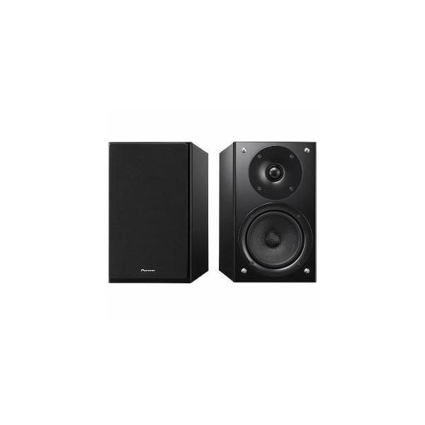 パイオニア 【ハイレゾ音源対応】ブックシェルフ型スピーカー(ペア) ブラック S-HM86LRB