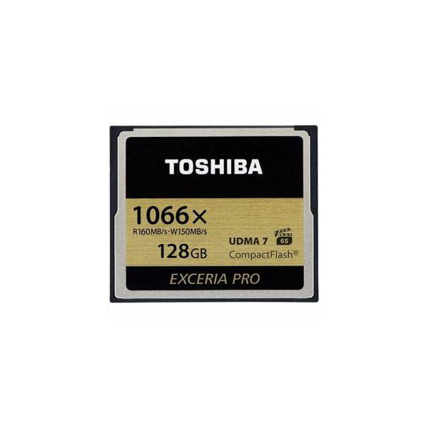 TOSHIBA コンパクトフラッシュカード 「EXCERIA PRO」 128GB CF-AX128G