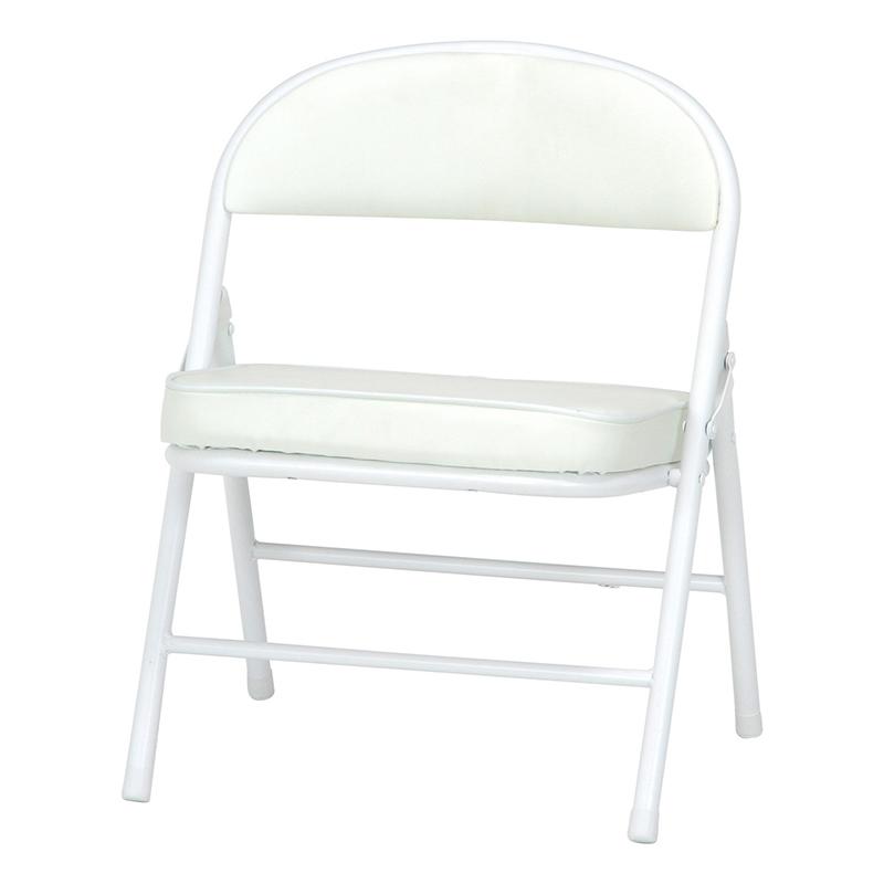 送料無料 4脚セット 折りたたみワイドチェア ミーティングチェアー 椅子 チェア チェアー 折りたたみ 折り畳み パイプイス パイプ椅子 腰掛け いす イス 玄関 キッチン 台所 リビング オフィス 会議 簡易 おしゃれ シンプル ホワイト