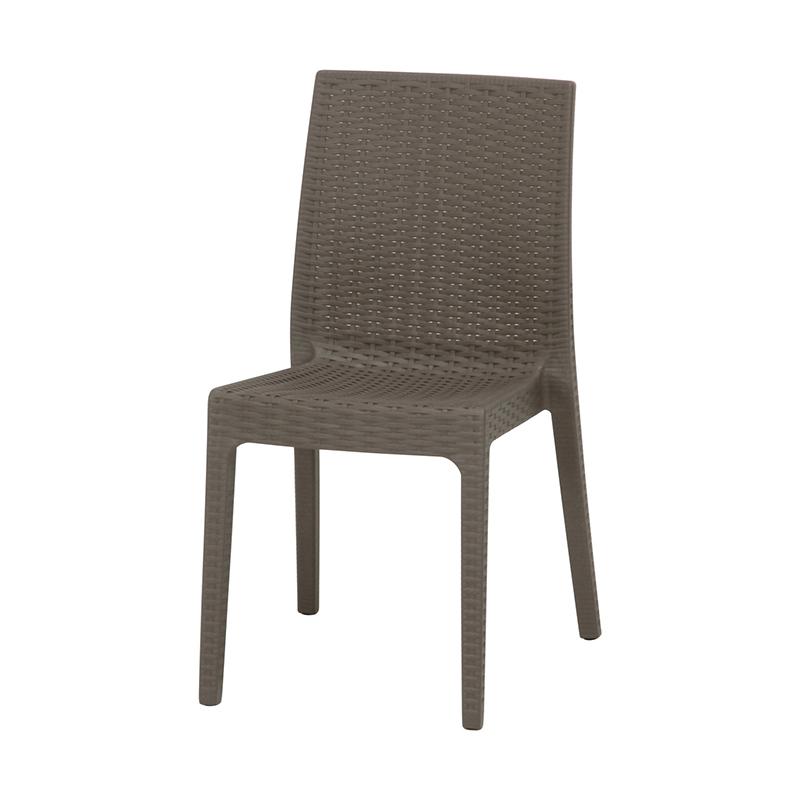 送料無料 2脚セット イタリア製 チェア ガーデンチェアー ステラ チェアー プールサイド いす 椅子 イス リゾート 庭 屋外 野外 アウトドア カフェ アジアン モダン シンプル グレー おしゃれ かわいい
