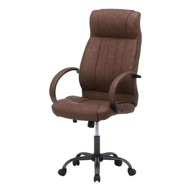 送料無料 レザーチェア フランツ パソコンチェアー ロッキング機能 いす 椅子 オフィスチェアー ワークチェア 事務椅子 デスクチェア ワークチェア OAチェア シンプル モダン おしゃれ