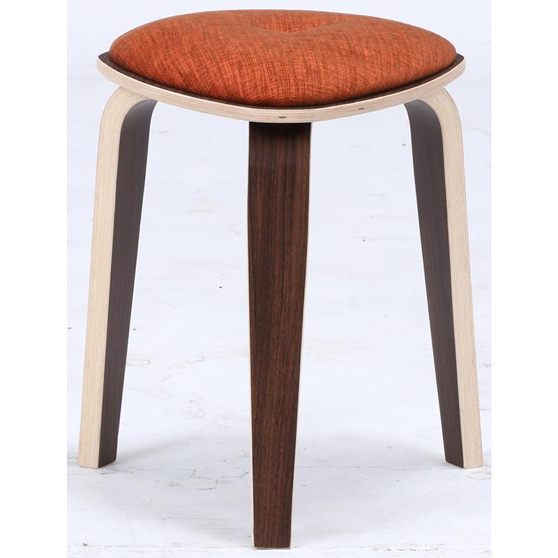 送料無料 4脚セット トライアングルスツール スツール イス 椅子 いす チェアー チェア 腰掛け 木製 会議室 リビング キッチン オフィス シンプル モダン コンパクト おしゃれ かわいい 北欧 オレンジ