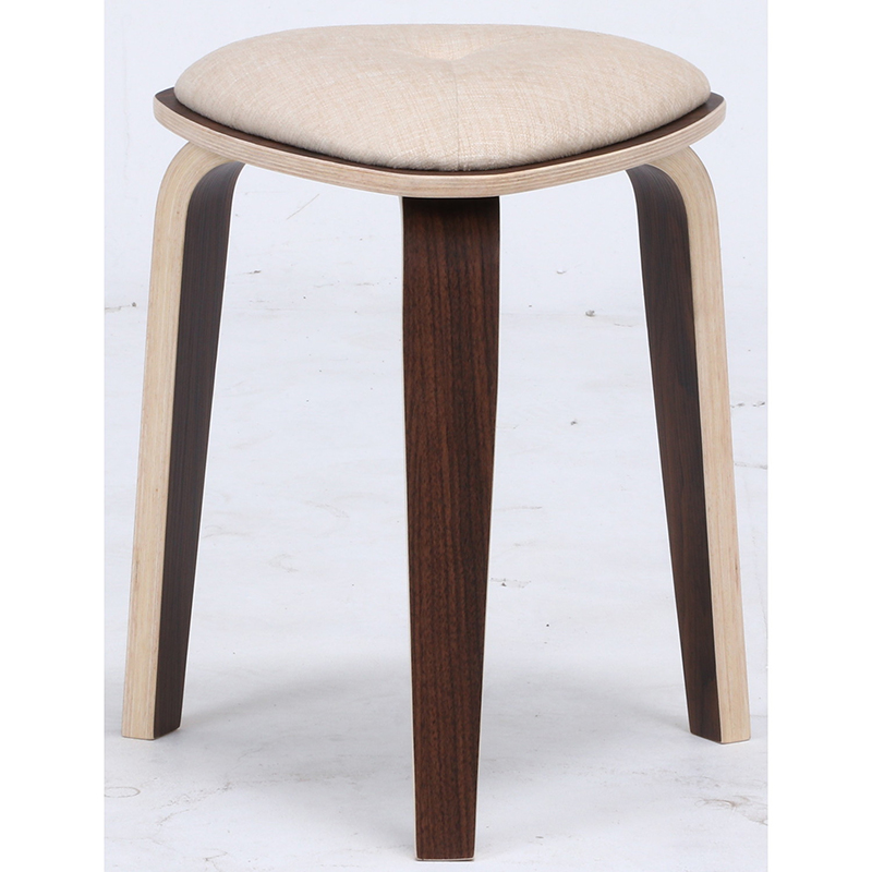 送料無料 4脚セット トライアングルスツール スツール イス 椅子 いす チェアー チェア 腰掛け 木製 会議室 リビング キッチン オフィス シンプル モダン コンパクト おしゃれ かわいい 北欧 アイボリー