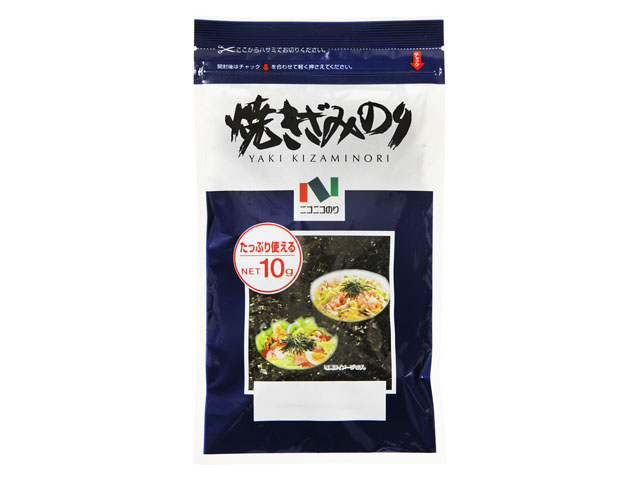 ニコニコのり 35%OFF 日本メーカー新品 焼きざみのり 10g x10