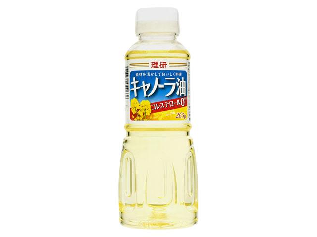 理研農産 キャノーラ油 x12 お得 265g 送料込