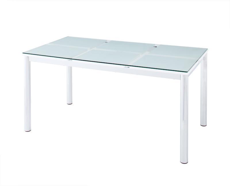(送料無料) ガラスダイニングテーブル テーブル単品 ガラステーブル 強化ガラス ダイニングテーブル ガラスデザインダイニング -ディ・モデラ/テーブル 幅150cm- 食卓テーブル モダン シンプル 家具通販 新生活 敬老の日