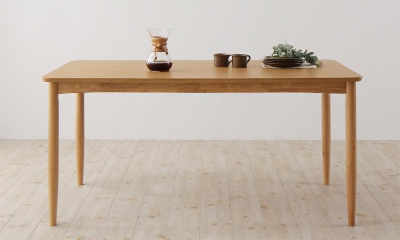 天然木オーク材 北欧デザイン ダイニング【Sonatine】ソナチネ/ダイニングテーブル(W150)