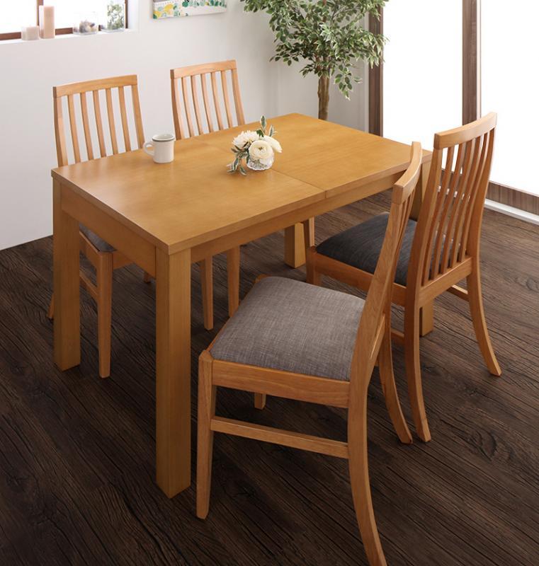 Costa コスタ 3段階伸縮 ハイバックチェア ダイニングテーブル 5点セット(テーブル 幅120-150-180+チェア4脚) 天然木 木製 天板拡張 角型 4人用 500026819 ダイニング 4人掛け 食卓テーブル 伸縮式 伸長式テーブル エクステンションテーブル モダン 北欧 (送料無料)