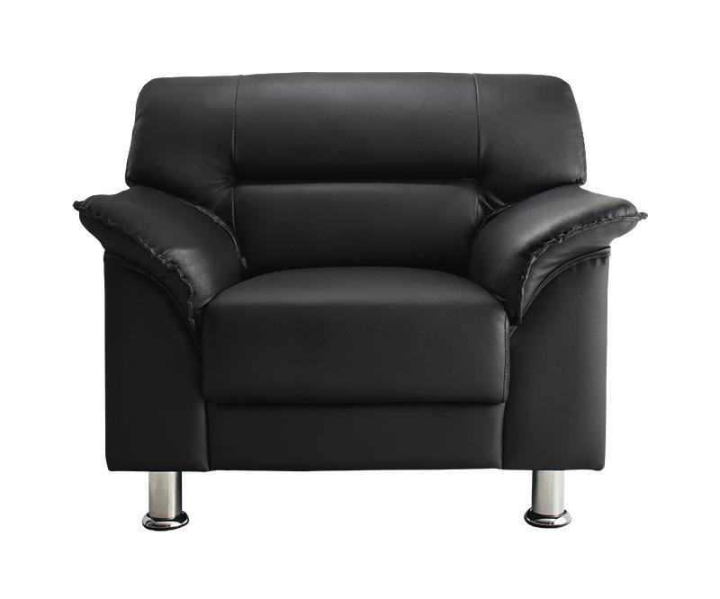 シンプルモダンシリーズ BLACK ブラック ソファ 1P