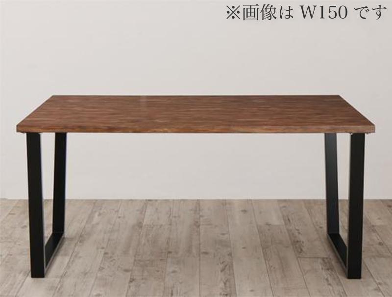 (送料無料) ダイニングテーブルのみ 幅120cm 奥行80cm 奥行64cm 古木風×スチール脚ナチュラルモダンデザインダイニング FOLKIS フォーキス 4人掛け 4人用 角型 木製 食卓 北欧