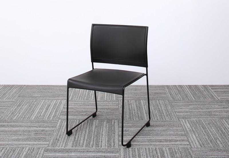 (送料無料) スタッキングチェアー ISSUERE イシューレ 1脚 オフィスチェア スタッキングチェア パソコンチェア 椅子 イス いす スチール ブラック レッド ホワイト グリーン