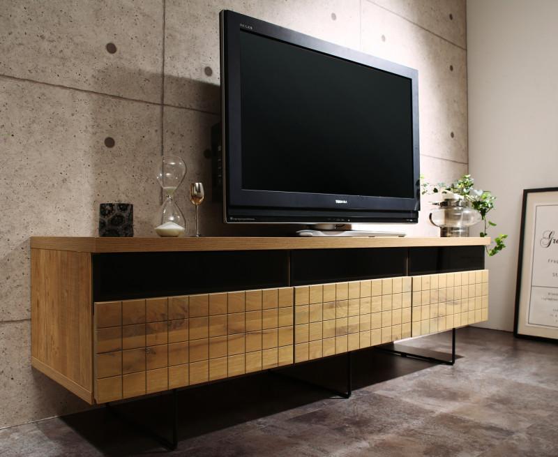 国産完成品 テレビボード ガブリ リビング収納シリーズ オーク材 Gaburi