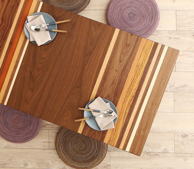 ミックスウッド天然木北欧風こたつ mixwood ミックスウッド 4尺長方形(70×120cm)