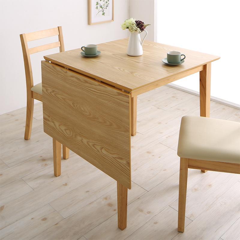 コンパクト 伸縮式 北欧デザイン ダイニング Lilja リルヤ ダイニングテーブル W75-120