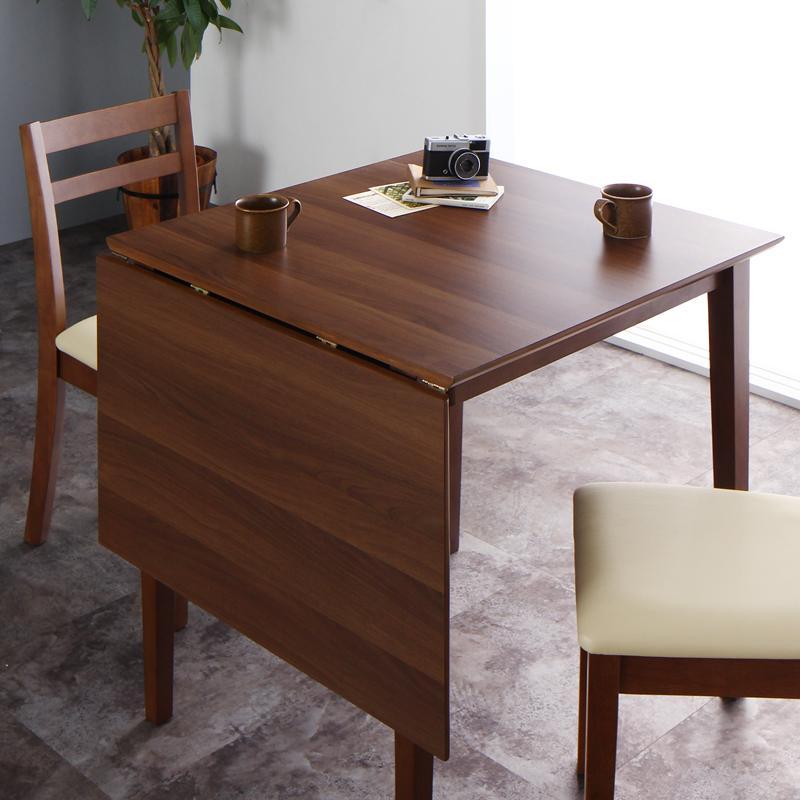 コンパクト 北欧ヴィンテージ デザイン 伸縮式 ダイニング Ellenio エルニオ ダイニングテーブル W75-120