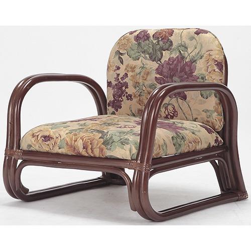 天然籐思いやり座椅子 ロータイプ(1コ入)