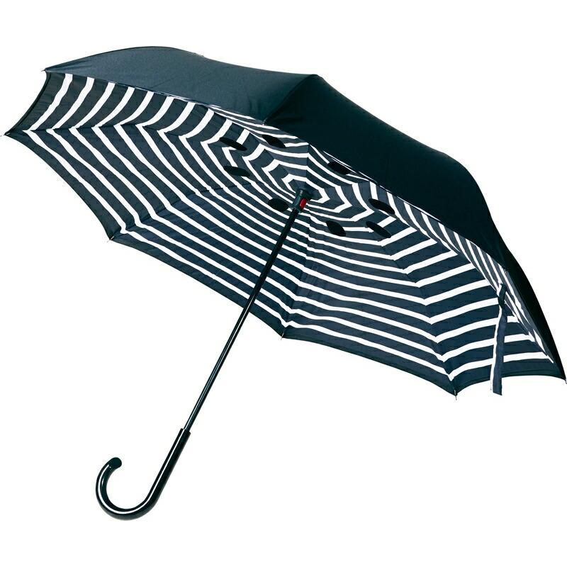 メンズ レディース ユニセックス 男女兼用 濡れにくい 男性 配送員設置送料無料 女性 まとめ買い10セット 逆さに開く二重傘 サーカス 逆さ傘 逆開き 逆転傘 逆折り式 雨具 使いやすい 《週末限定タイムセール》 おしゃれ かさ プレゼント ギフト シンプル 記念品 濡れない 2重傘 雨傘 便利 反対開き 贈り物